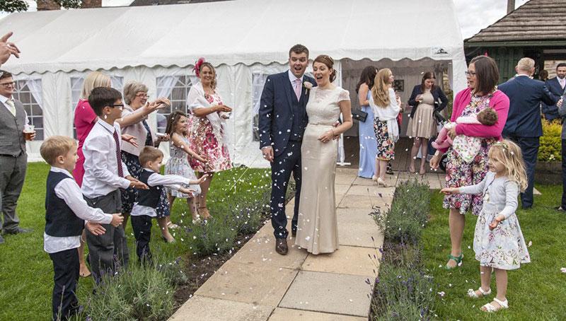 Hochzeit mit Kinderbetreuung