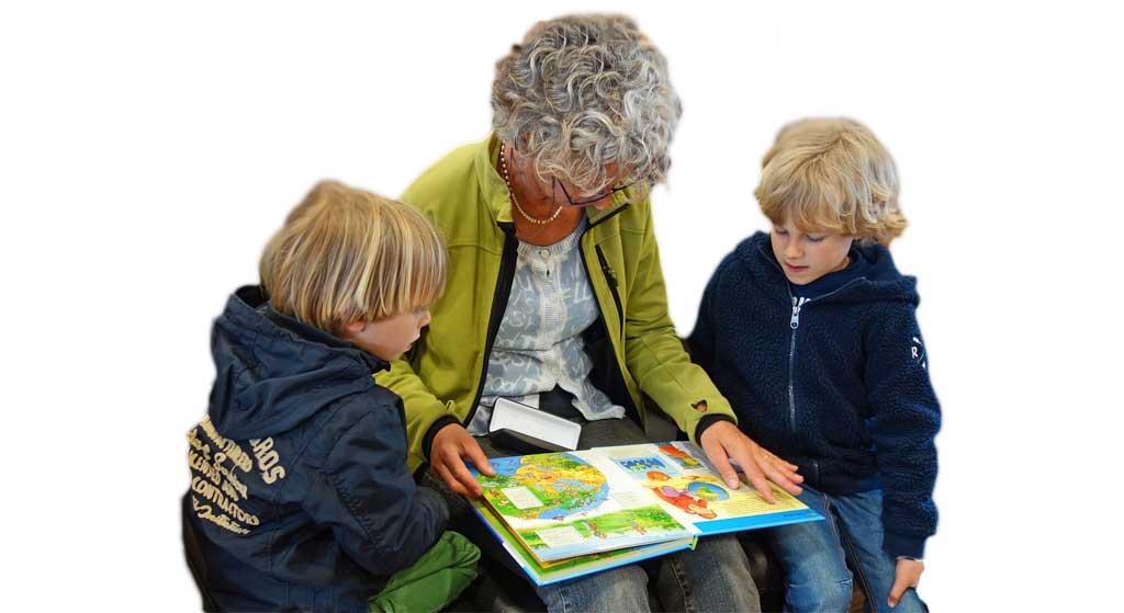 Leihoma mit Kindern